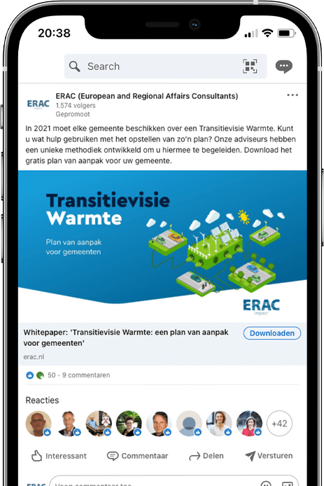 ERAC Brandgang online marketing